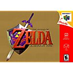 The Legend of Zelda Ocarina of Time Gold Collector's Edition