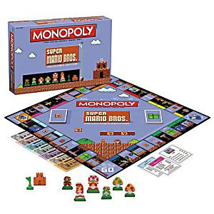 Toy Board Game - Super Mario - 8bit Monopoly