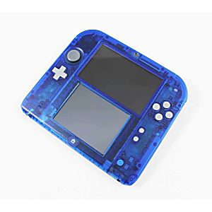Nintendo 3DS 2DS Crystal Blue System - Discounted