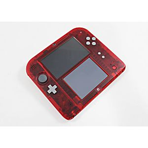 Nintendo 3DS 2DS Crystal Red System - Discounted