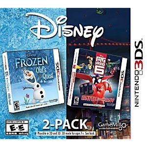 Disney Two Pack: Big Hero 6 & Frozen Olafs Quest