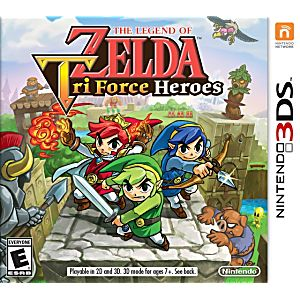 Legend of Zelda Tri Force Heroes