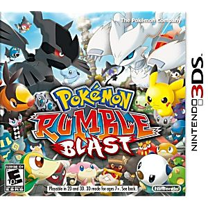 pokemon rumble 3ds