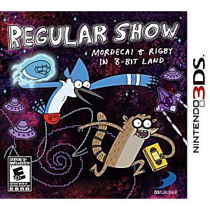 Regular Show: Mordecai & Rigby in 8-Bit Land