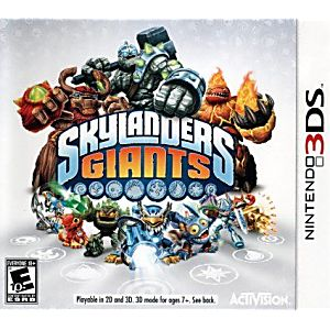 Skylander's Giants Game only (No portal/characters)