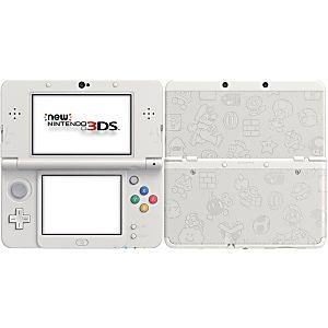 Nintendo 3DS System - New Model - Super Mario White Edition