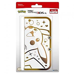 New 3DS XL Pikachu Gold Premium Protector Case
