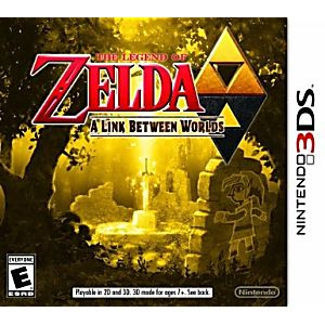 3DS The Legend of Zelda: A Link Between Worlds