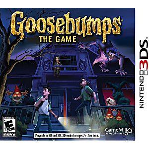 Goosebumps the Game Nintendo 3DS Game