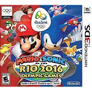 Mario and Sonic at the Rio 2016 Olympic Games Nintendo 3DS Game