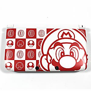 Nintendo New 3DS XL - Mario Red and White Limited Edition System