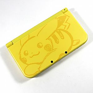 3DS XL New Pikachu System (discounted)