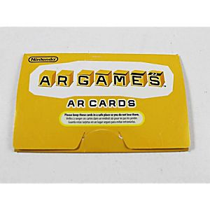 NINTENDO 3DS AUGMENTED REALITY AR CARDS
