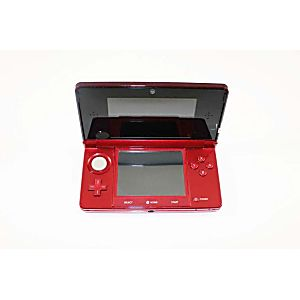 Nintendo 3Ds System - FLAME RED