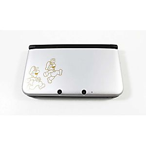 Nintendo 3DS XL System - Mario & Luigi Silver Limited Edition