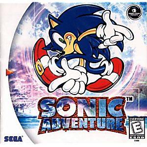 Sonic Adventure Dreamcast Game