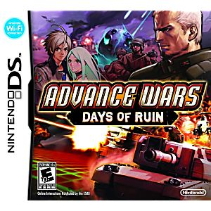 Advance Wars Days of Ruin DS Game