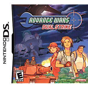 Advance Wars Dual Strike DS Game