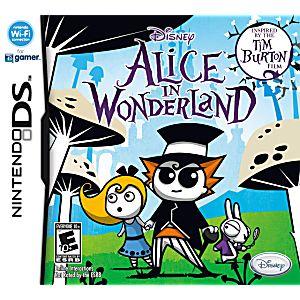 Alice in Wonderland: The Movie DS Game