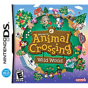 Animal Crossing Wild World DS Game