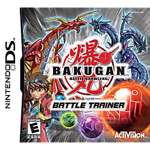 Bakugan Battle Trainer DS Game