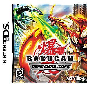 Bakugan: Defenders of the Core DS Game