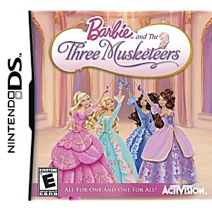 and the Three Musketeers DS Game