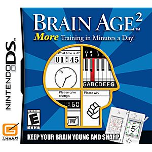 Brain Age 2 DS Game