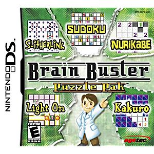 Brain Buster Puzzle Pak DS Game