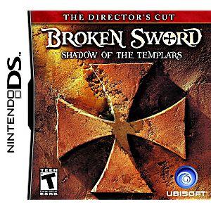Broken Sword The Shadow of the Templars DS Game