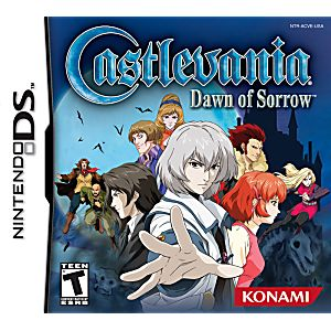 Castlevania Dawn of Sorrow DS Game