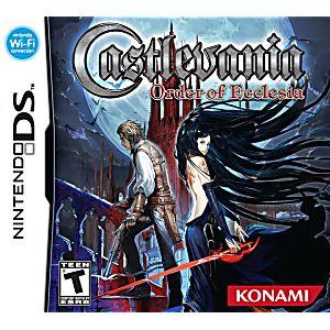 Castlevania: Order of Ecclesia DS Game