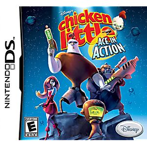 Chicken Little Ace In Action DS Game