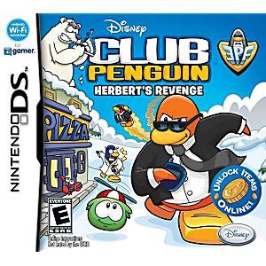 Club Penguin Elite Penguin Force Herbert's Revenge DS Game