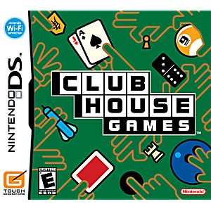 Clubhouse Games DS Game