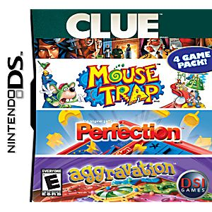 Clue/Mouse Trap/Perfection/Aggravation DS Game