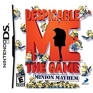 Despicable Me Minion Mayhem DS Game