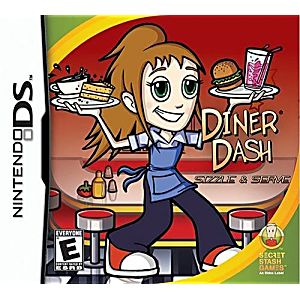 Diner Dash Sizzle and Serve DS Game