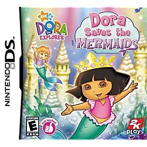 Dora the Explorer Dora Saves the Mermaids DS Game
