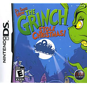 Seuss How the Grinch Stole Christmas DS Game