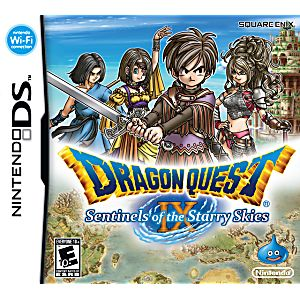 Dragon Quest IX: Sentinels of the Starry Skies DS Game