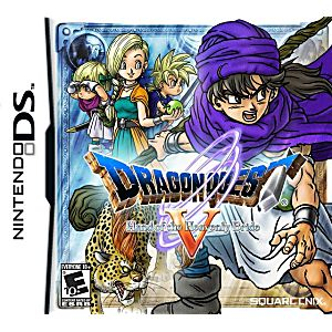 Dragon Quest V Hand of the Heavenly Bride DS Game