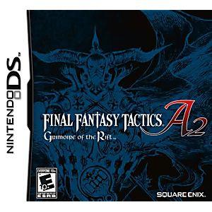 Final Fantasy Tactics A2 DS Game