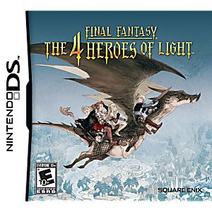 Final Fantasy: The 4 Heroes of Light DS Game