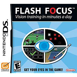 Flash Focus Vision Training DS Game