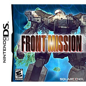 Front Mission DS Game