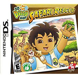 Go Diego Go Safari Rescue DS Game
