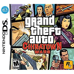 Grand Theft Auto: Chinatown Wars DS Game