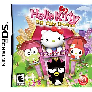Hello Kitty Big City Dreams DS Game