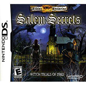 Hidden Mysteries Salem Secrets DS Game